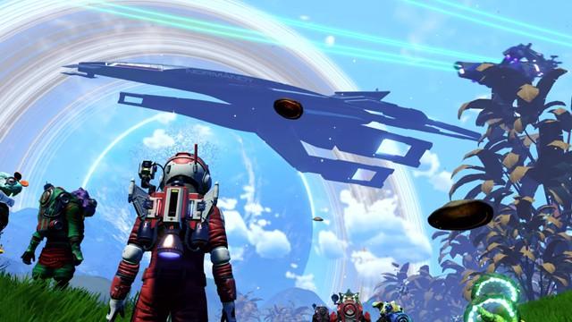 Mass Effect meets No Man's Sky