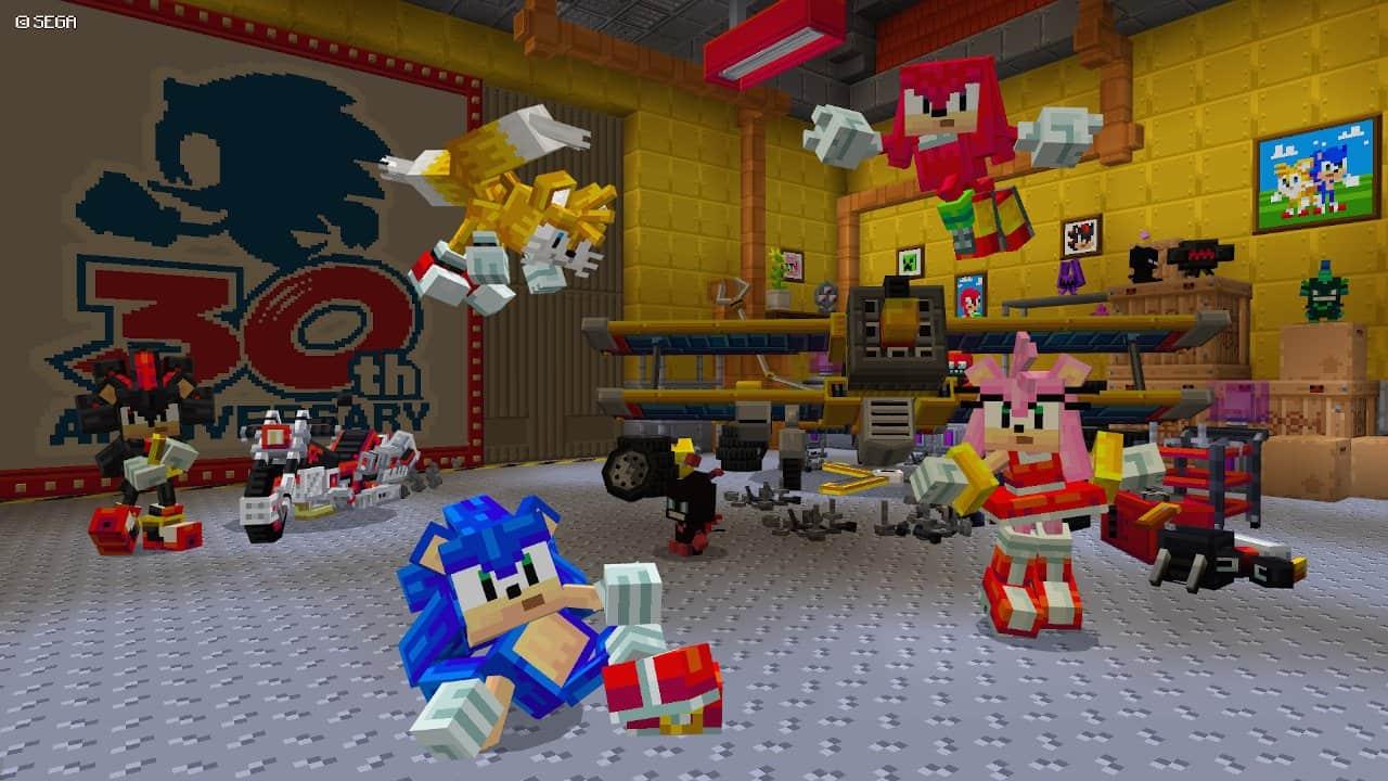 Minecraft Sonic
