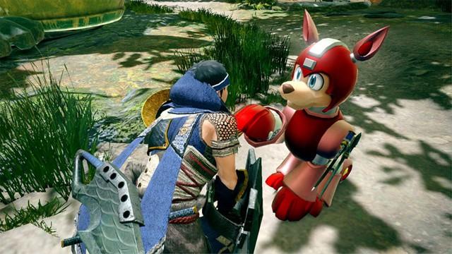Monster Hunter Rise Mega Man