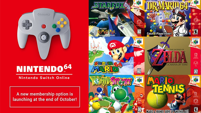 N64 Switch Online
