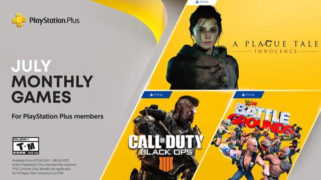 PlayStation Plus July 2021