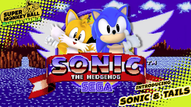 Super Monkey Ball Sonic and Tails