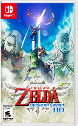 The Legend of Zelda: Skyward Sword HD cover art