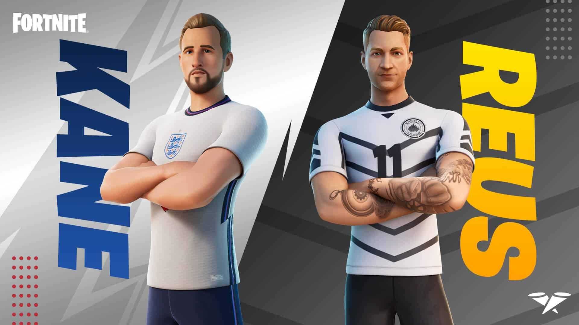 Kane and Reus Fortnite promo image