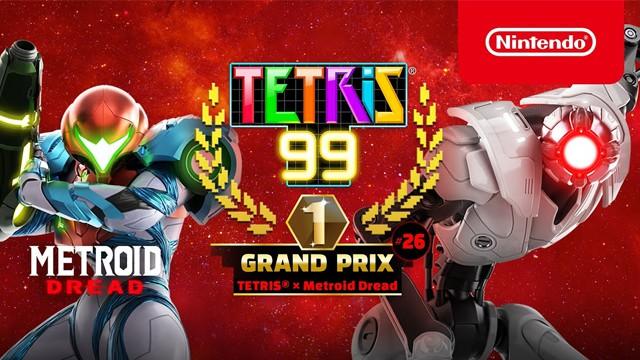 Tetris 99 Metroid Dread
