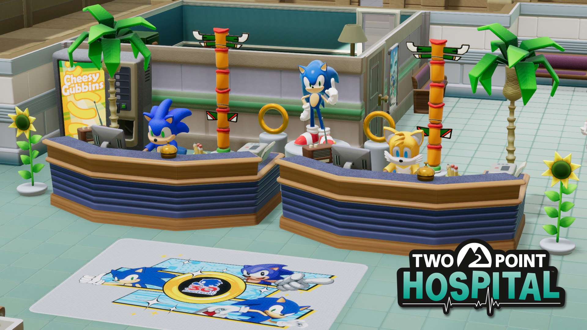 Two Point Hospital Sonic