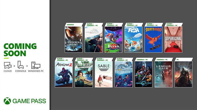 Xbox Game Pass Late September