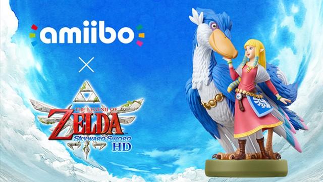 Zelda Skyward Sword Amiibo